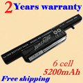 JIGU 6 Cells 5200mAh Laptop battery for Clevo C4500 C4500Q C4501 C4505 W150 C4500BAT-6 6-87-C480S-4P4 C4500BAT 6 KB15030