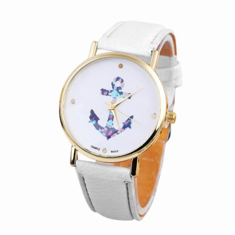 OTOKY 2018 Fashion Unisex Women Man Band Analog Quartz Business Wrist Watch Geneva Simple Causal Vintage Flower Watches JANN01