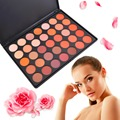 35 Colors Long-lasting Waterproof Eyeshadow Pallete Earth Warm Color Shimmer Matte Beauty Makeup Set Smoky Eye-shadow Palette