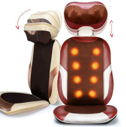 Massage device multifunctional household full-body massage pillow cushion neck cervical vertebra electric spine neck cervical traction device inflatable collar household equipment health care massage device nursing care