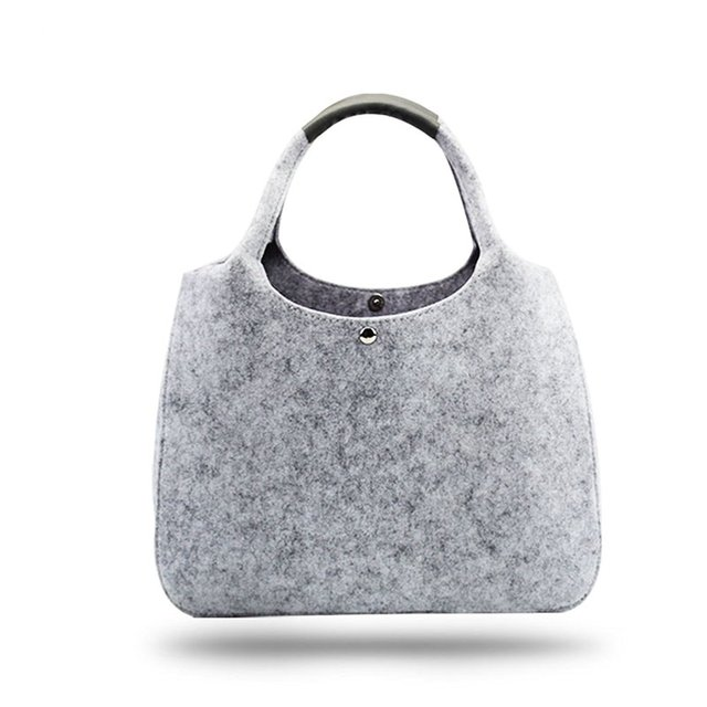 b221570c6d56 2018 Фирменная Новинка Дизайнер фетр для женщин сумка, повседневное магазин  сумки на плечо, качество