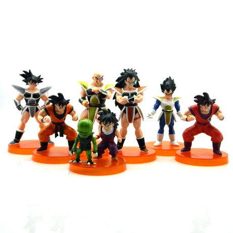 7Pcs Dragon Ball Z Figures
