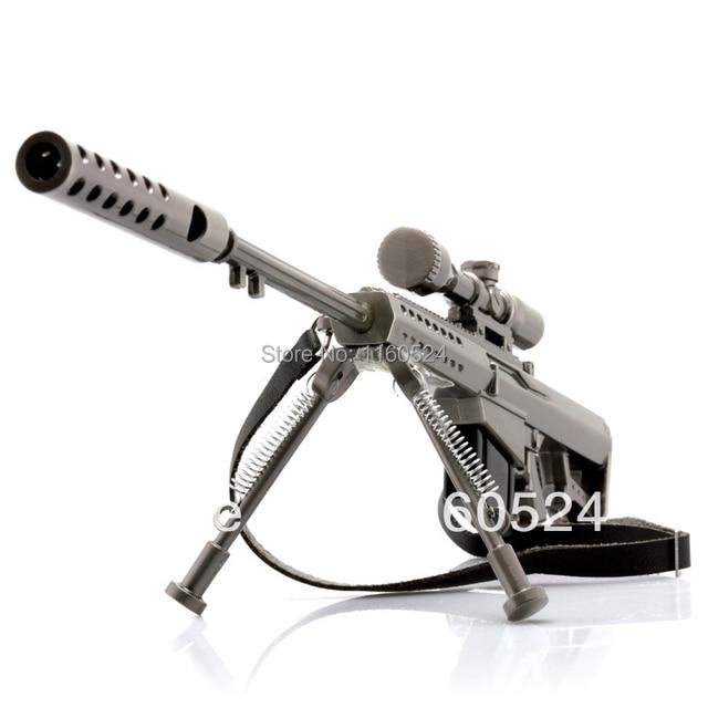 1/6 Scale Miniature DoomRider Barrett M82A1 Sniper rifle alloy Model Military New mode toys
