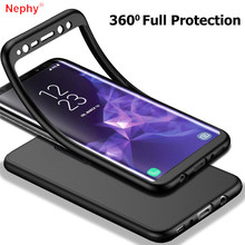 360 Degree Full Phone Case For Samsung Galaxy S7 S8 S9 A3 A5 A7 J3 J5 J7 Prime 2016 2017 A6 A8 Plus J4 J6 J8 2018 Note 8 9 Cover(China)