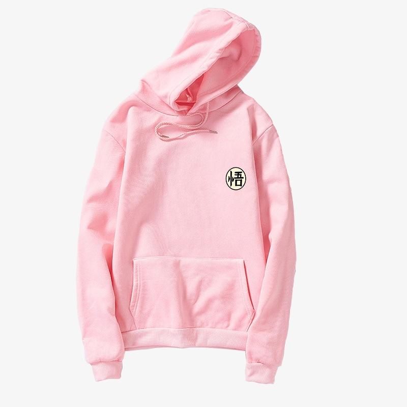 Dragon Ball Sweatshirt Hoodies Women Men 2019 Spring Harajuku Kawaii Long Sleeve Plus Size Pullover Casual Fleece Sudadera Mujer