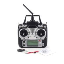 2019 New Flysky Mode 2 6CH 2.4G FS-T6 FS T6 with LCD Screen Transmitter and FS R6B Receiver For RC Helicopter Airplane flysky fs sm100 sm100 rc usb flight simulator with fms cable helicopter controller 2 4g for fs th9x fs t6 fs i6 fs i10