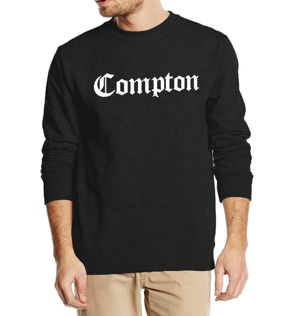 hip hop style autumn winter 2017 new fashion Compton print sweatshirt men  hoodies cool streetwear tracksuit db9b1d8e596