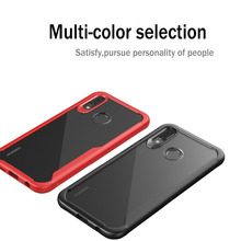 Hybrid Airbag ShockProof Clear Case for Huawei Honor Note 10 Protective Hard PC+Soft TPU Cover