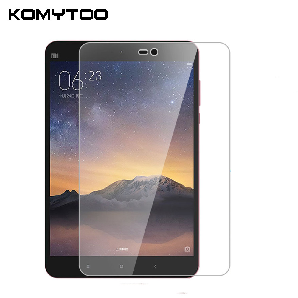 """9H 0.3mm Explosion-Proof Toughened Tempered Glass For Xiaomi Mipad 2 Mi Pad 2 7.9\"""" LCD Tablet PC Film Clear Screen Protect Cover"""