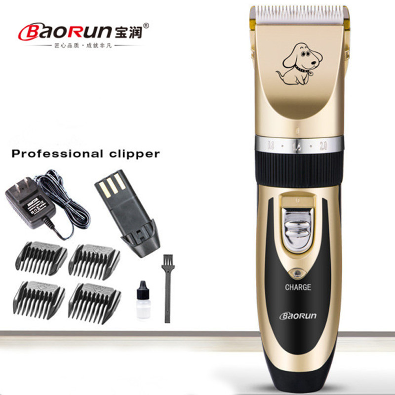Professional Dog Hair Trimmer Cat Shaver Machine Grooming Kit Electric Rechargeable Machine Clipper Haircut Machine P2