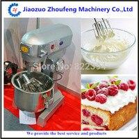 10L Comercial Batidora Multifunción Mezclador de Masa de Harina de Crema de Huevo 220 V mezcladores de alimentos de panadería