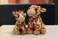 Kawaii Giraffe Dolls Plush Toys African Prairie Animals Children Gifts Toy Stores