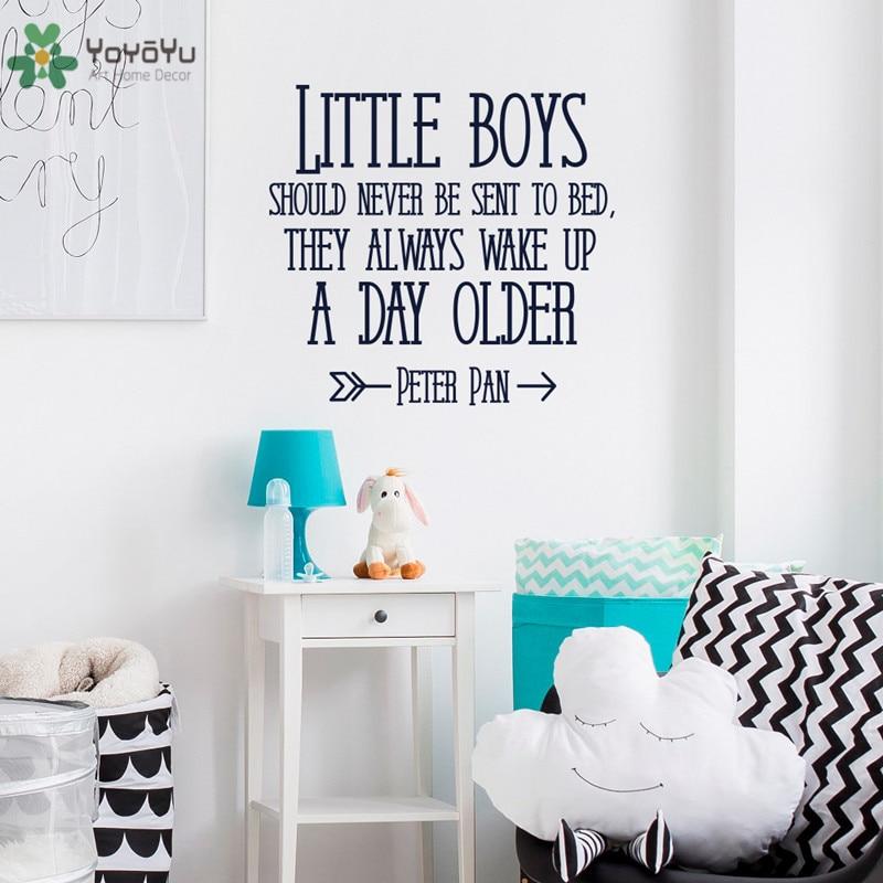 YOYOYU Wandtattoo Baby Kinderzimmer Schlafzimmer Wandaufkleber Zitat ...
