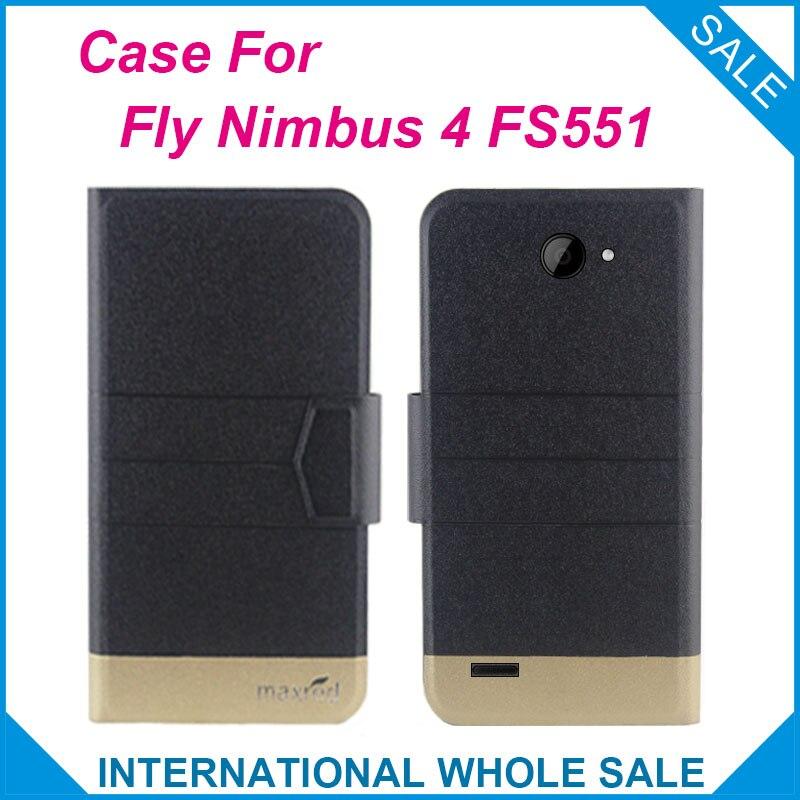 5 szín forró! Fly Nimbus 4 FS551 tok Kiváló minőségű, kiváló - Mobiltelefon alkatrész és tartozékok