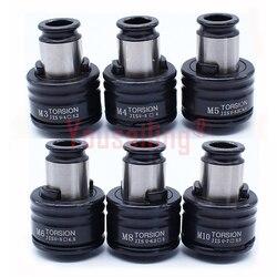 Высокое качество ISO/DIN/JIS M3-M12 набор нарезание цанги патроны пневматический нарезающий станок патроны с защитой от перегрузки