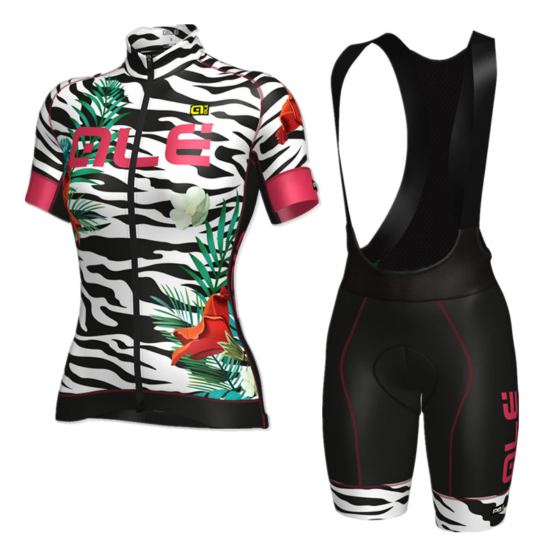2017 womens ALE cycling jerseys road bike wear bicycle clothing ropa ciclismo mujer Wholesale retail Maillot Culotte Quick Dry