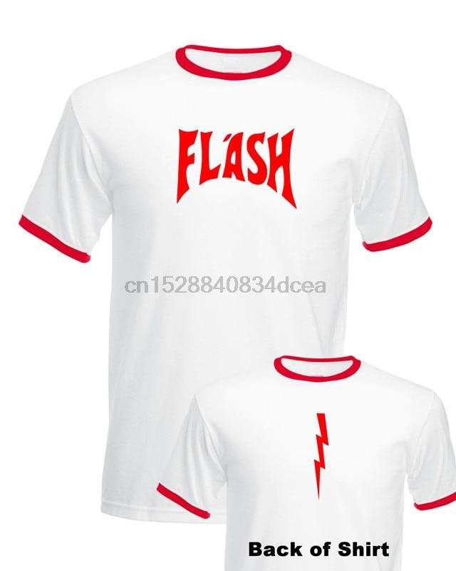 Flash Gordon T-Shirt Bnwt Stag Fancy Dress Queen Freddie Mercury Retro 80S S-3Xl 2019 Cotton Short Sleeve O-Neck Casual T Shirt(China)