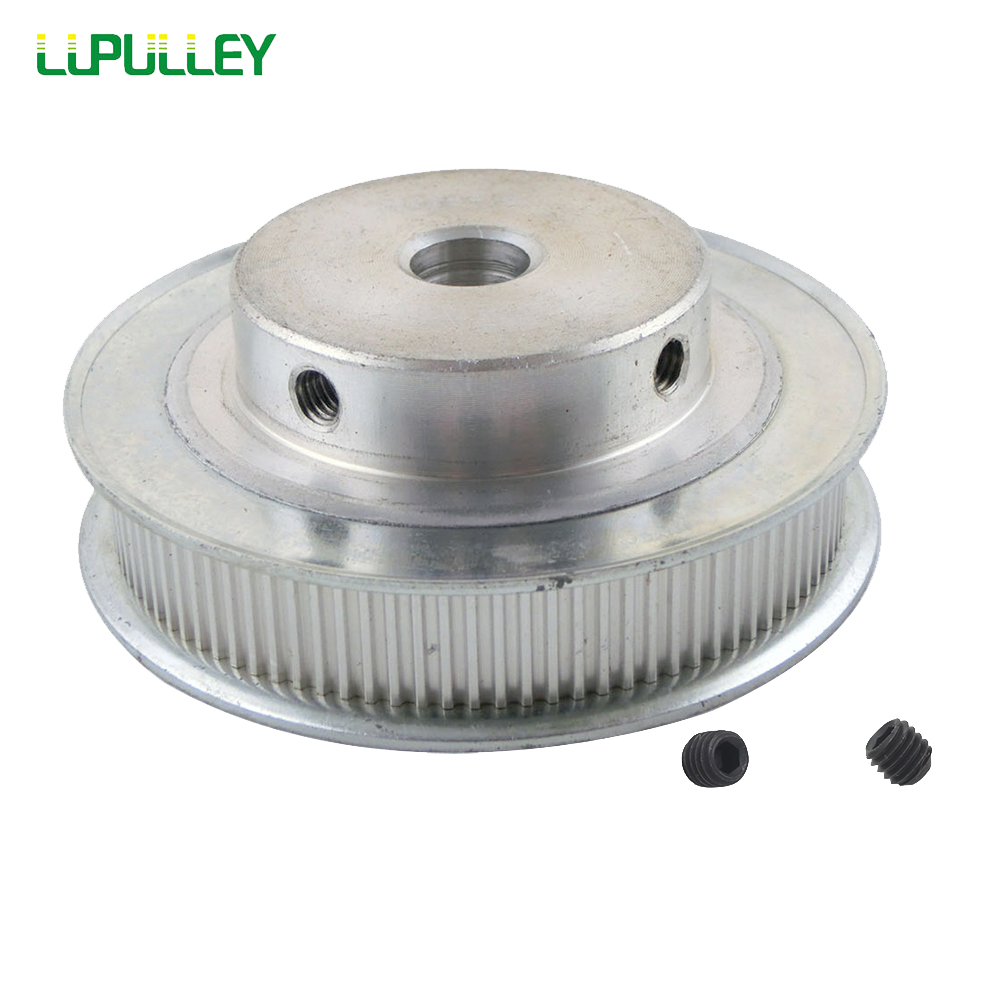 LUPULLEY MXL 160T Timing Pulley 11mm Belt Width Timing Pulley Wheel 10/12mm Bore Aluminum Alloy 160Teeth Timing Belt Pulleys купить недорого в Москве