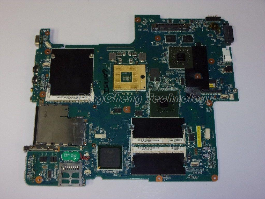 MBX 156 laptop Motherboard For Sony MS20 MBX-156 REV:1.1 1P-0064100-8011 for intel cpu with non-integrated graphics card