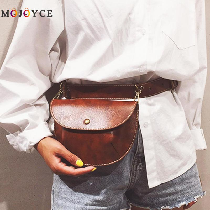 Multi-use Women Leather Belt Bag Phone Pouch Fanny Pack Luxury Brand Female Waist Pack Heuptas Pochete