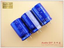 30 ШТ. ELNA голубой халат RE3 серии 2200 мкФ/35 В электролитический конденсатор (Таиланд origl box упаковка) бесплатная доставка