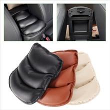 באיכות גבוהה אוניברסלי רכב אוטומטי משענות כיסוי רכב מרכז קונסולת זרוע שאר מושב תיבת כרית מגן מקרה רך PU מחצלות כרית