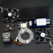 Syscooling Water cooling kit with aluminum heat sink CPU water block syscooling sc cs23 watercooling kit cpu block gpu block northbridge block pump 240 water radiator