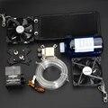 Syscooling kit com alumínio do dissipador de calor da CPU De refrigeração de Água bloco de água