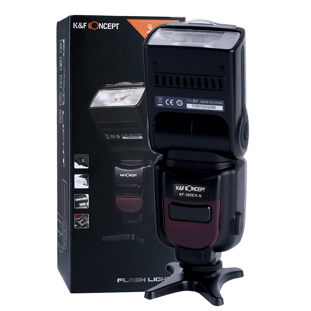 ФОТО K&F KF590N TTL Flash Speedlight for Nikon D7100 D5200 D5100 D3000 D3100 D300S D600 D90 D80 D70 D70S D60 D50 Nikon DSLR Cameras