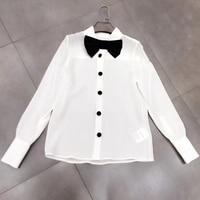 Dressnow elegant white blouses women long sleeve blouse summer tops 2018 new women blouse
