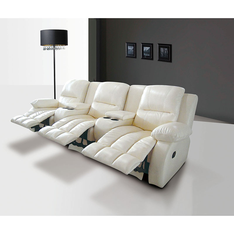 Modern Electric 3 Seater Recliner Sofa