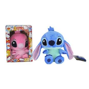 "7.87""20cm Lilo Stitch Plush toy Dolls Soft Stuffed Cute Toys Movie Character Boys Girls Kids Baby Gifts Big Eye Animals"