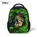 Small 12ich School Backpacks for Children Fashion 3D Dinosaur Print Kids Backpack Sac a Dos Boys Book Bags Mochila