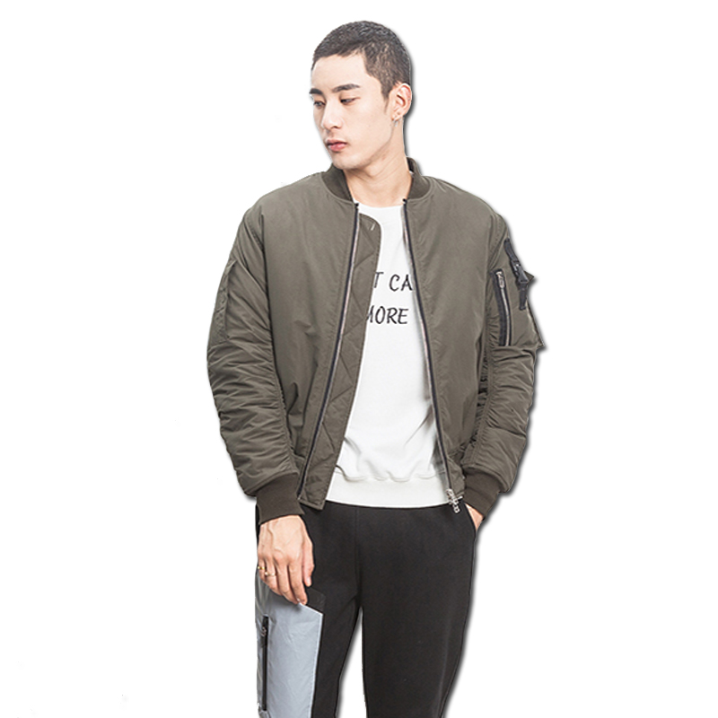 2016 Men Winter Cotton Jackets Coats Sportswear Jaqueta Masculina Men s Casual Fashion Slim Fit Veste