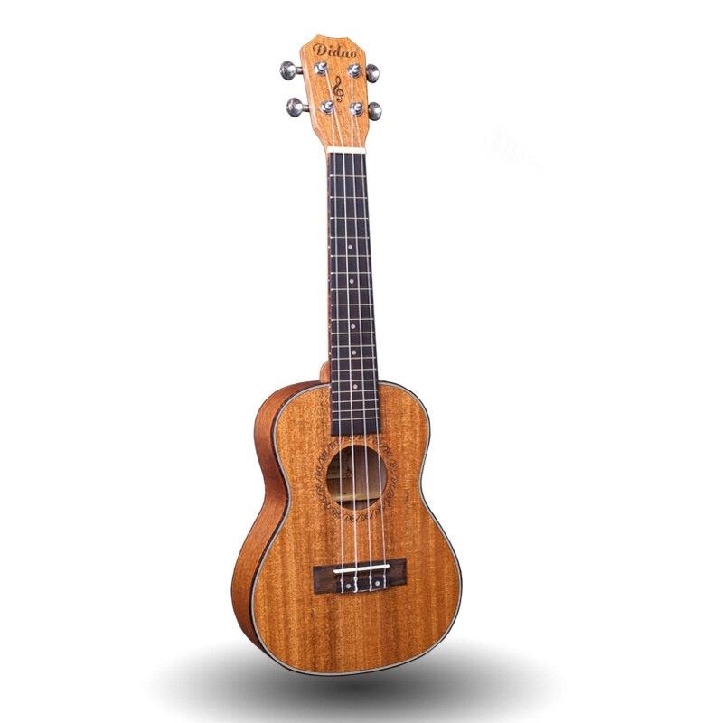 Top Solid Concert Ukulele 23 Inch Mini Guitar 4 Strings Mahogany Ukelele Guitarra Handcraft Uke High Quality