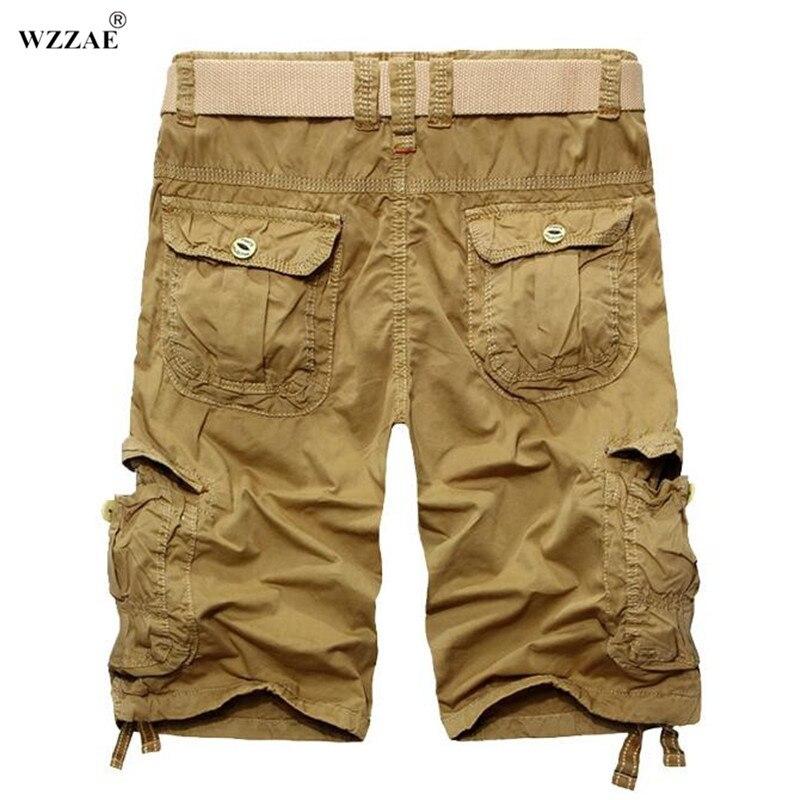 WZZAE 2017 Brand New Fashion Summer Calf length Men Shorts Cotton ...