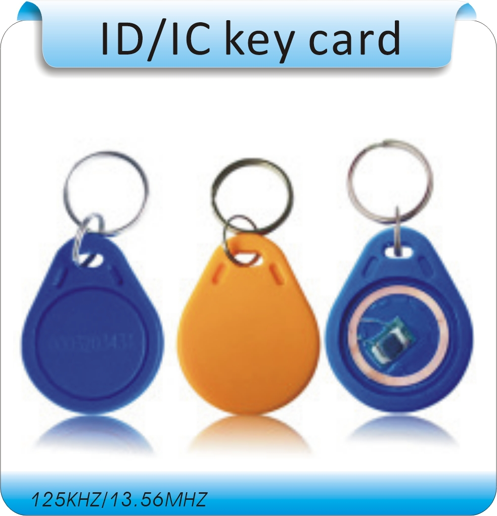 100pcs TK4100 chips 125Khz RFID Proximity ID Card Token Tags Keyfobs for Access Control Time Attendance