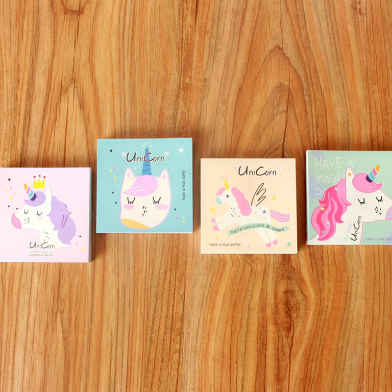 Memo Pads Lower Price with Cute Kawaii Cartoon Animal Finger Unicorn Memo Pad N Times Sticky Note Paper Korean Stationery Cat Planner Sticker School Office Notebooks & Writing Pads