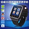 Android 4.4 Dual Core Smart Watch S8 Smartwatch Наручные Мобильных Телефонов Поддерживает GSM 3 Г WCDMA Bluetooth 4.0 Wi-Fi Камера