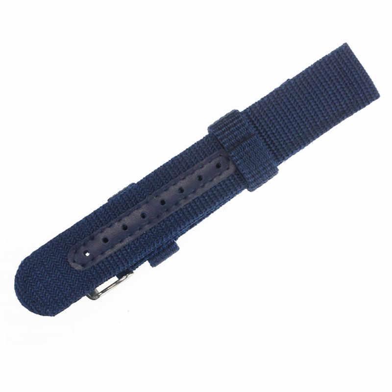 2019 moda pulseiras para 18mm 20mm náilon relógio de pulso pulseira para relógio de aço inoxidável fivela pulseira de montre # l05