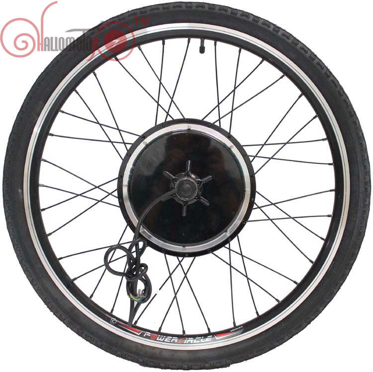 ConhisMotor Electric Bicycle 36V/48V 1000W 20inch-700c Rear Wheel Driving Brushless Gearless Hub Motor