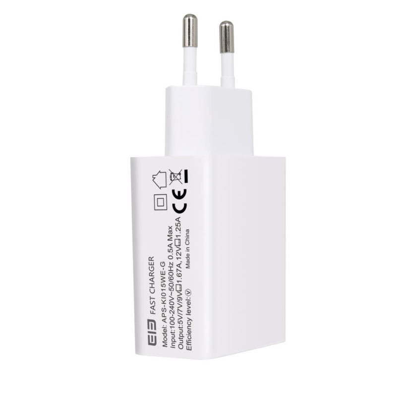 Hot-sale BINMER Phone Fast Charger EU Plug Gifts Phone Charging Wall USB Quick Charger EU Plug for ELEPhone P9000 Smartphone