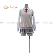 Kisstyle Fashion Noucome Furano Yukihira Uniform COS Clothing Cosplay Costume,Customized Accepted