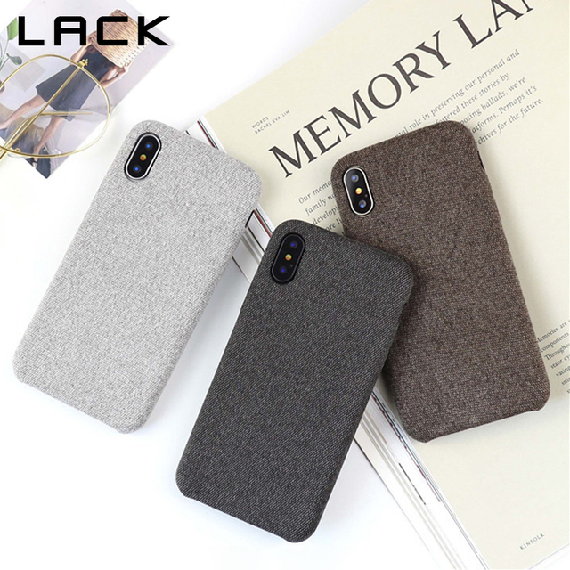 cheap for discount 0ea48 86178 US $1.83 8% OFF|LACK Vintage Warm Fuzzy Phone Case For iphone X Case  Classic Solid Color Cloth Skin Back Cover Fashion Soft Cases For iphoneX-in  ...