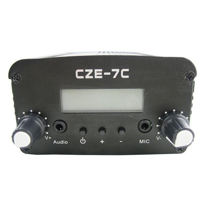 цены  FMUSER  CZH CZE-7C  7W  FM stereo PLL broadcast transmitter 76-108MHZ FREE SHIPPING