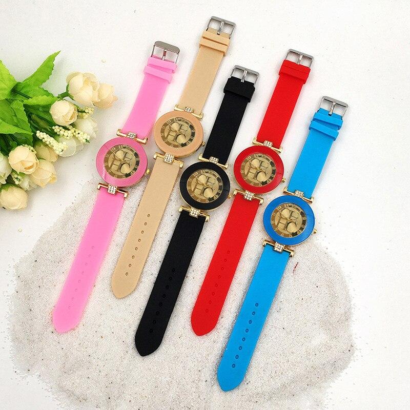 New CH watch ten color mix and match mens watch loose casual waterproof sunscreen sports watch girls watchKobiecy zegarek