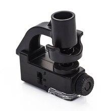 90X макрообъектив для мобильного телефона, микроскоп, увеличительное стекло, светодиодный инструмент, увеличительное стекло с клипсой для камеры, оптический увеличитель
