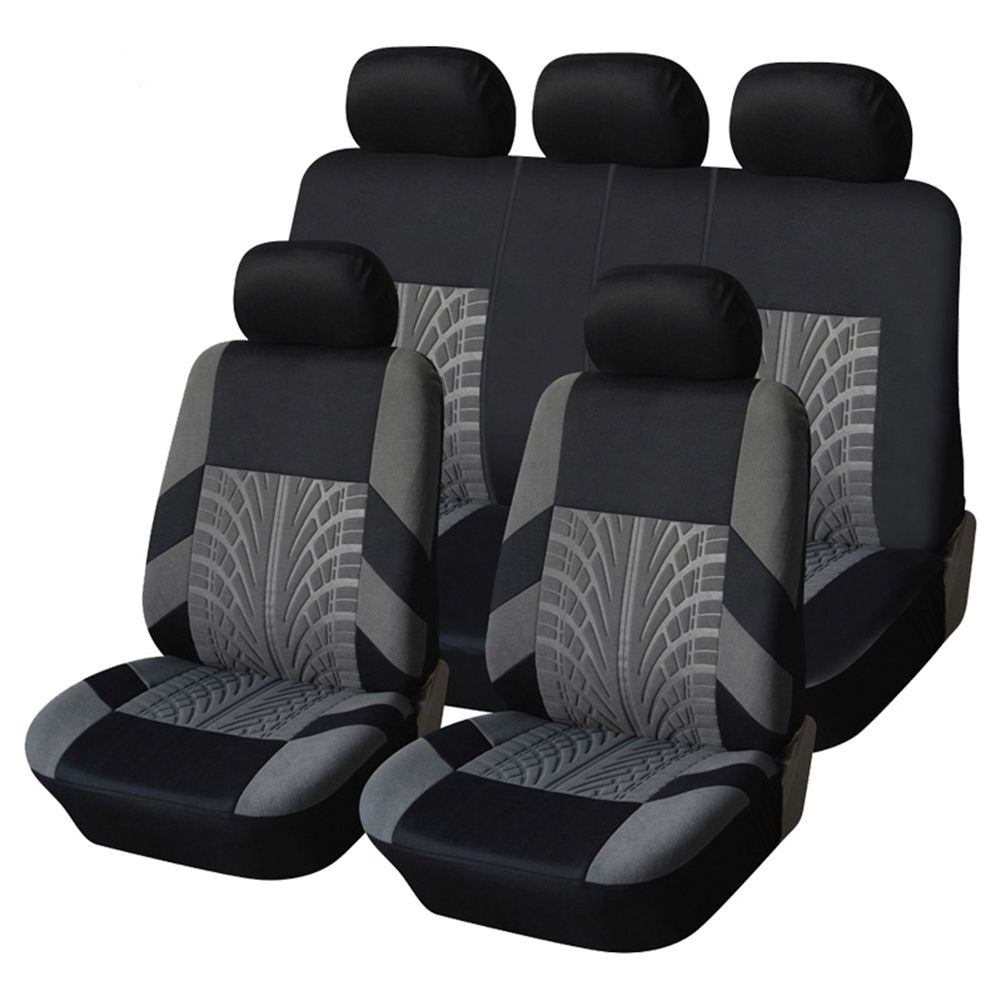 9PCS Automobiles Seat Covers Full Car Seat Cover Universal Fit Interior AccESSories Protector Car-Styling Car Seat Protector цена