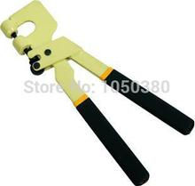 Straight-handle Stud Crimper Metal Frame Punch Plier Lock Crimper  Drywall Partition Section Fastener Tool