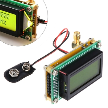 Medidor de frecuencia de alta precisión y sensibilidad 1-500 MHz módulo contador Hz probador módulo de medición pantalla LCD herramienta LSD